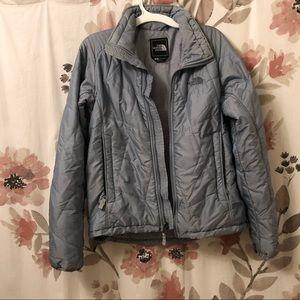 North Face blue jacket